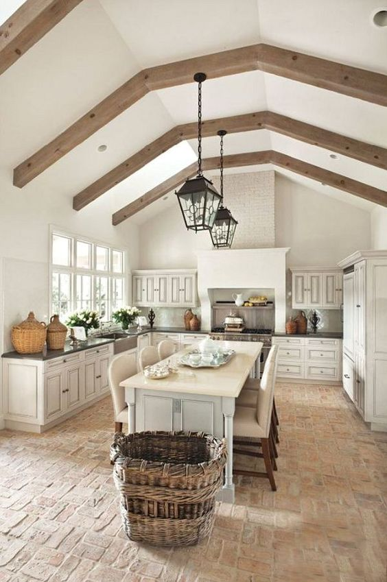 Friday Favorites - The Charm of French Farmhouse Kitchens